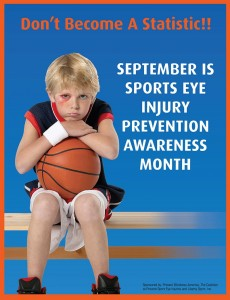 September is Sports Eye Injury Prevention Month!